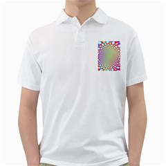 Color Abstract Background Textures Golf Shirts