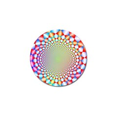 Color Abstract Background Textures Golf Ball Marker