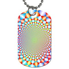 Color Abstract Background Textures Dog Tag (two Sides)