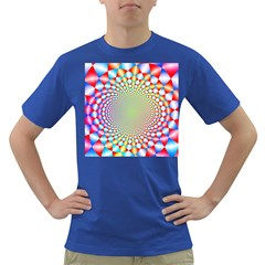 Color Abstract Background Textures Dark T Shirt