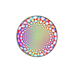 Color Abstract Background Textures Hat Clip Ball Marker