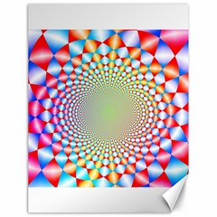 Color Abstract Background Textures Canvas 18  X 24