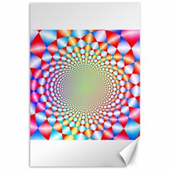 Color Abstract Background Textures Canvas 24  X 36