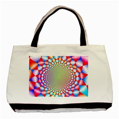 Color Abstract Background Textures Basic Tote Bag (Two Sides)