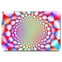 Color Abstract Background Textures Large Doormat