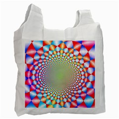 Color Abstract Background Textures Recycle Bag (two Side)
