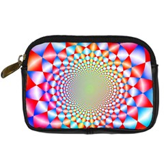 Color Abstract Background Textures Digital Camera Cases