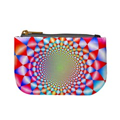 Color Abstract Background Textures Mini Coin Purses