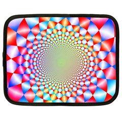 Color Abstract Background Textures Netbook Case (xxl)