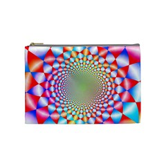Color Abstract Background Textures Cosmetic Bag (Medium)