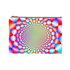 Color Abstract Background Textures Cosmetic Bag (Large)