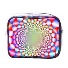 Color Abstract Background Textures Mini Toiletries Bags
