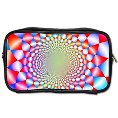 Color Abstract Background Textures Toiletries Bags