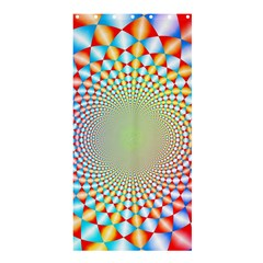 Color Abstract Background Textures Shower Curtain 36  x 72  (Stall)