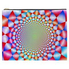 Color Abstract Background Textures Cosmetic Bag (xxxl)