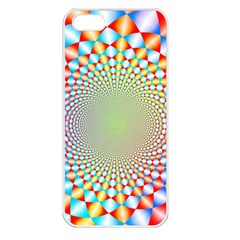 Color Abstract Background Textures Apple Iphone 5 Seamless Case (white)