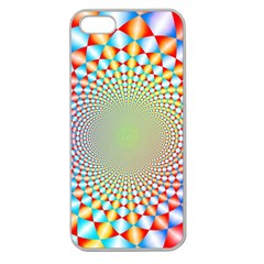 Color Abstract Background Textures Apple Seamless Iphone 5 Case (clear)