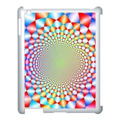 Color Abstract Background Textures Apple Ipad 3/4 Case (white)