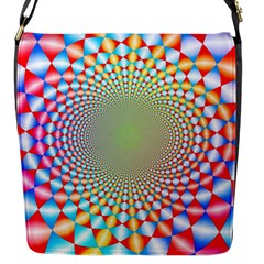 Color Abstract Background Textures Flap Messenger Bag (s)