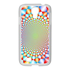 Color Abstract Background Textures Samsung Galaxy S4 I9500/ I9505 Case (white)