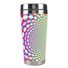 Color Abstract Background Textures Stainless Steel Travel Tumblers