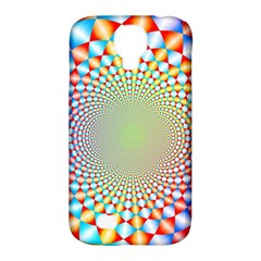 Color Abstract Background Textures Samsung Galaxy S4 Classic Hardshell Case (pc+silicone)