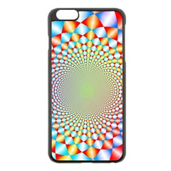 Color Abstract Background Textures Apple Iphone 6 Plus/6s Plus Black Enamel Case