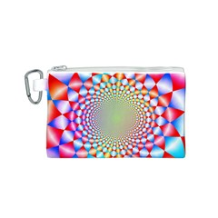 Color Abstract Background Textures Canvas Cosmetic Bag (s)
