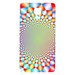 Color Abstract Background Textures Galaxy Note 4 Back Case