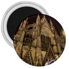 Cologne Church Evening Showplace 3  Magnets