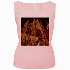 Cologne Church Evening Showplace Women s Pink Tank Top