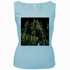 Cologne Church Evening Showplace Women s Baby Blue Tank Top