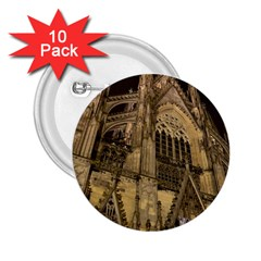 Cologne Church Evening Showplace 2.25  Buttons (10 pack)