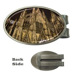 Cologne Church Evening Showplace Money Clips (Oval)
