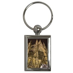 Cologne Church Evening Showplace Key Chains (rectangle)