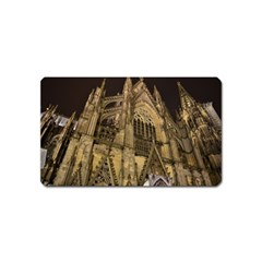 Cologne Church Evening Showplace Magnet (name Card)