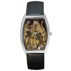 Cologne Church Evening Showplace Barrel Style Metal Watch