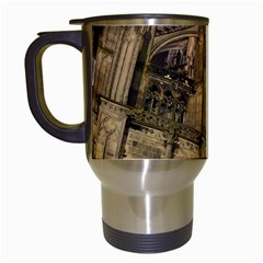 Cologne Church Evening Showplace Travel Mugs (White)