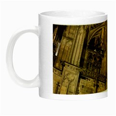 Cologne Church Evening Showplace Night Luminous Mugs