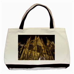 Cologne Church Evening Showplace Basic Tote Bag (two Sides)