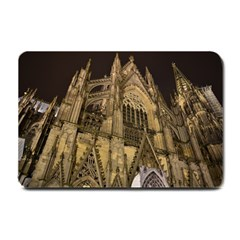 Cologne Church Evening Showplace Small Doormat