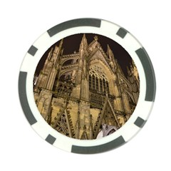 Cologne Church Evening Showplace Poker Chip Card Guard