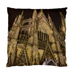 Cologne Church Evening Showplace Standard Cushion Case (one Side)