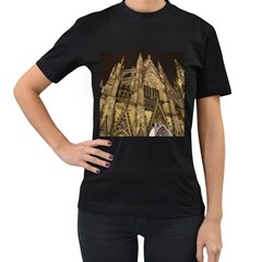 Cologne Church Evening Showplace Women s T Shirt (black)