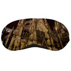 Cologne Church Evening Showplace Sleeping Masks