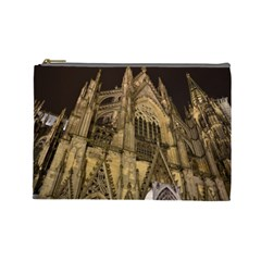 Cologne Church Evening Showplace Cosmetic Bag (large)