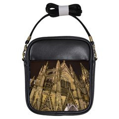 Cologne Church Evening Showplace Girls Sling Bags