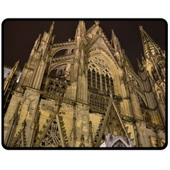 Cologne Church Evening Showplace Fleece Blanket (Medium)