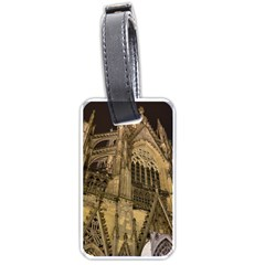 Cologne Church Evening Showplace Luggage Tags (one Side)