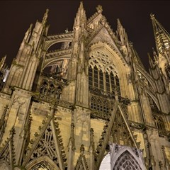 Cologne Church Evening Showplace Magic Photo Cubes